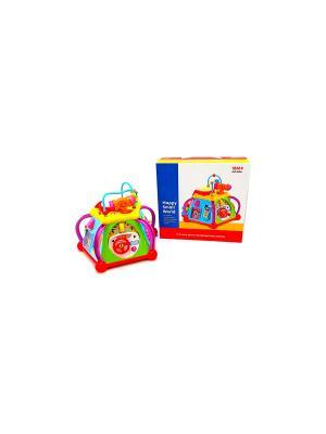 Игровой центр для малышей HUILE. Цвет: голубой, красный, желтый, зеленый