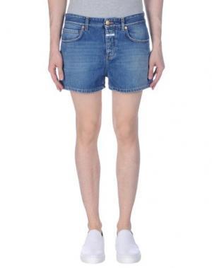 Джинсовые шорты CLOSED. Цвет: синий