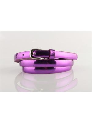 Ремень INDIVIDUUM. Цвет: фиолетовый