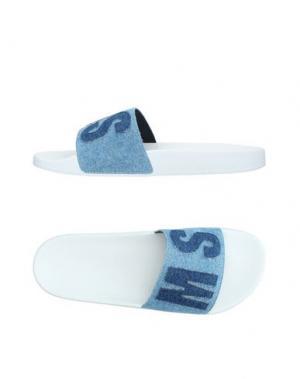 Сандалии MSGM. Цвет: синий