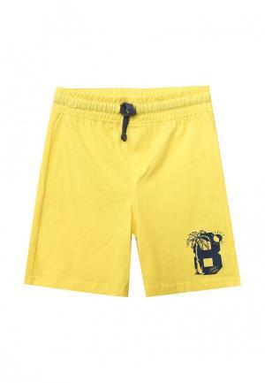 Шорты спортивные Blukids. Цвет: желтый
