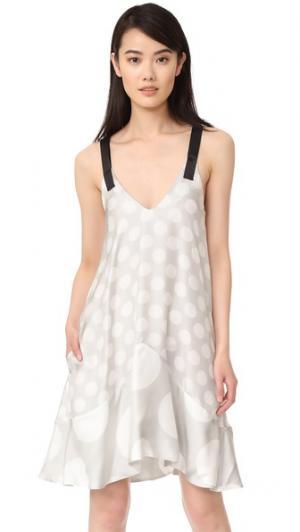 Платье Vacanecs PAPER London. Цвет: рисунок в горошек