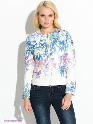 Куртка Colmar. Цвет: белый, синий, сиреневый