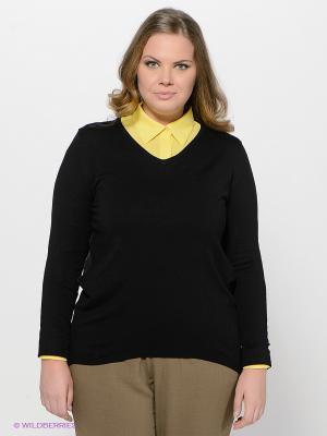 Пуловер LE MONIQUE. Цвет: черный