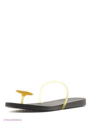 Пантолеты Ipanema. Цвет: зеленый