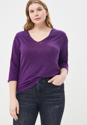 Лонгслив Violeta by Mango. Цвет: фиолетовый