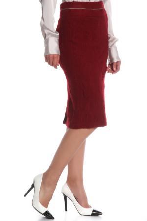 Юбка Costume National. Цвет: 470 бордовый