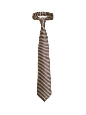 Классический галстук Неделя в Нью Джерси диагональную полоску Signature A.P.. Цвет: коричневый