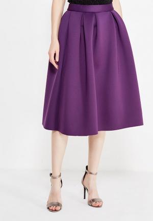 Юбка TrendyAngel. Цвет: фиолетовый