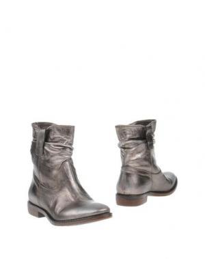 Полусапоги и высокие ботинки FRU.IT. Цвет: серебристый