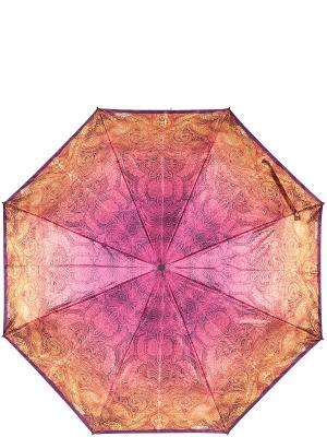 Зонт Eleganzza. Цвет: светло-оранжевый, фуксия
