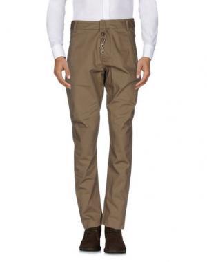 Повседневные брюки LE CASUAL DE MARITHÉ + FRANÇOIS GIRBAUD. Цвет: зеленый-милитари