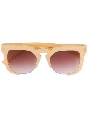 Солнцезащитные очки Temple Grey Ant. Цвет: телесный