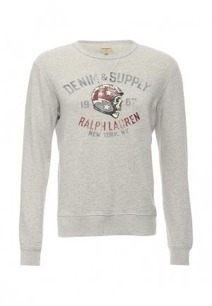 Свитшот Denim & Supply Ralph Lauren. Цвет: серый