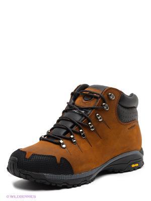 Мембранные ботинки Ascot. Цвет: коричневый, черный