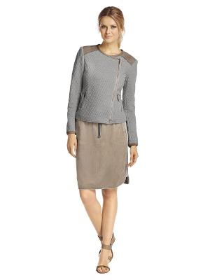 Куртка APART. Цвет: серый