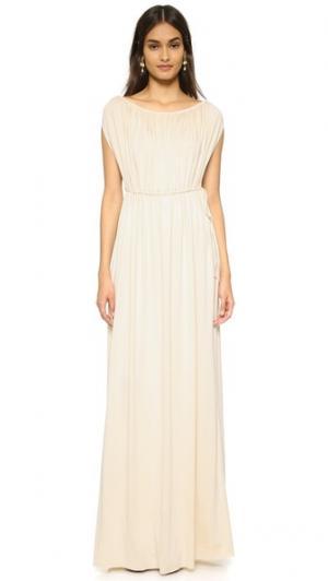 Макси-платье в греческом стиле Rachel Pally. Цвет: золотой