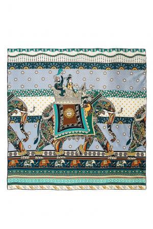 Шелковый платок 183391 Moltini. Цвет: разноцветный