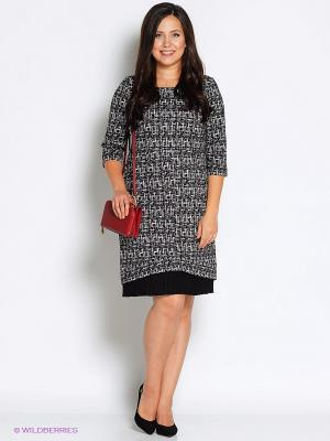 Платье Битис. Цвет: серый