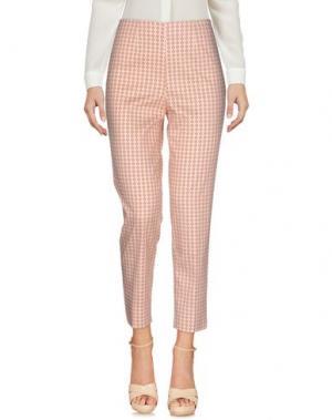 Повседневные брюки QL2 QUELLEDUE. Цвет: ржаво-коричневый