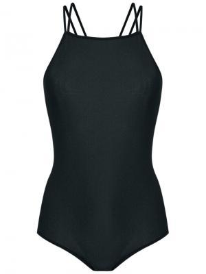 Strappy bodysuit Giuliana Romanno. Цвет: чёрный