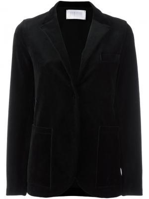 Блейзер с накладными карманами Harris Wharf London. Цвет: чёрный