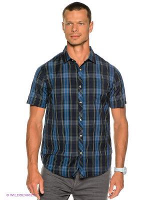 Рубашка Hodges Ss Woven BILLABONG. Цвет: темно-синий