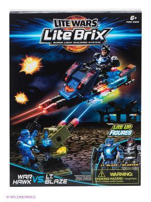 Конструктор Военный транспорт Lite Вrix. Цвет: синий