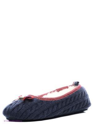 Тапочки Tommy Hilfiger. Цвет: синий