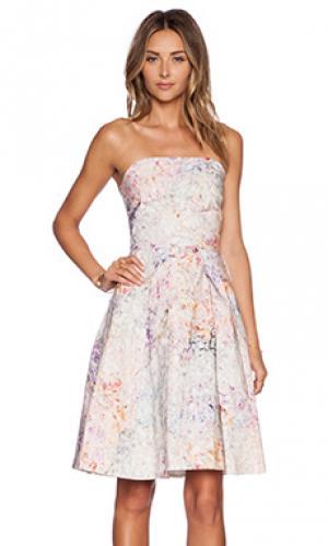 Платье loren Hunter Bell. Цвет: розовый