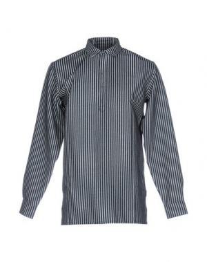 Джинсовая рубашка PUBLISH. Цвет: синий