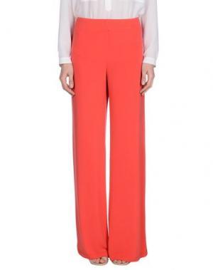 Повседневные брюки MY SIS. Цвет: красный