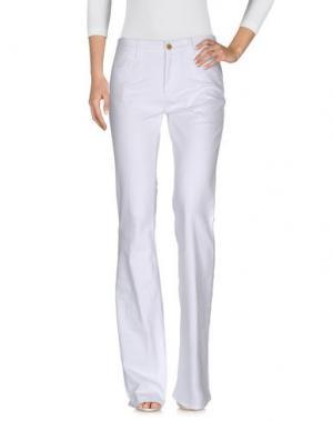 Джинсовые брюки MIH JEANS. Цвет: белый