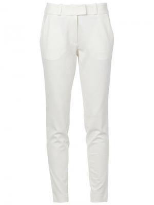 Классические брюки Maison Ullens. Цвет: белый