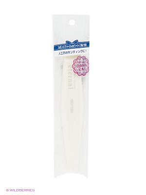 Полировка-губка для полировки акриловых ногтей двусторонняя ETERNAL Tool Collection PA presents since 2004. Цвет: белый