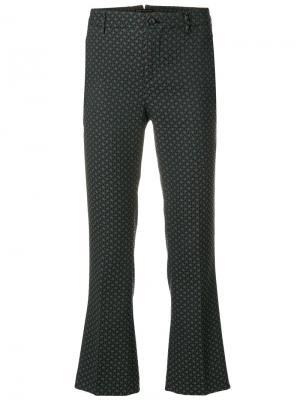 Укороченные классические брюки Pt01. Цвет: серый