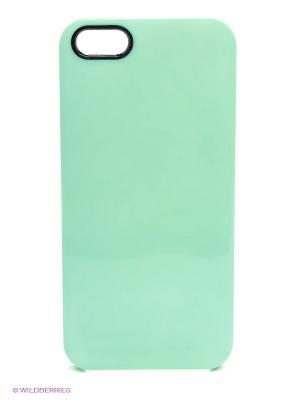 Чехол для iPhone 5/5s Spectrum - Forest haze Kawaii Factory. Цвет: бирюзовый