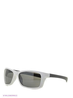 Солнцезащитные очки NRC. Цвет: белый, серый