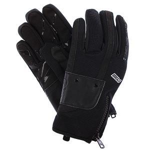 Перчатки сноубордические женские  Barker Glove Black Pow. Цвет: черный