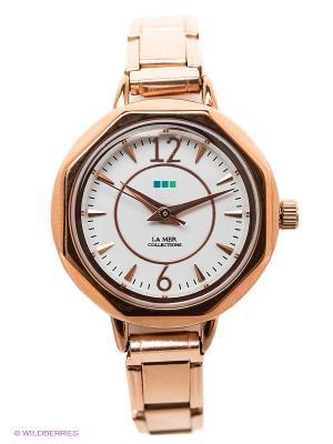 Часы La Mer Collections. Цвет: золотистый