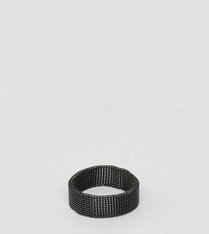 Reclaimed Vintage Кольцо Inspired. Цвет: черный
