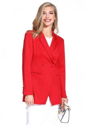 Пиджак Gloss. Цвет: красный