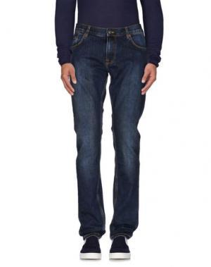 Джинсовые брюки PEAK PERFORMANCE. Цвет: синий