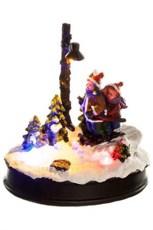 Новогодняя композиция GOLDEN HOLLY. Цвет: коричневый, красный, зеленый