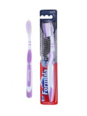 Зубная щетка Formula Экстремальное очищение Platinum Protector Extreme Clean FORMULA.. Цвет: серебристый