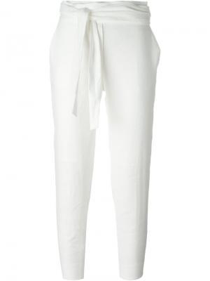 Укороченные брюки Iro. Цвет: телесный