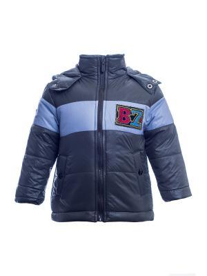 Куртка Bonito kids. Цвет: зеленый, серый