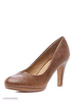 Туфли Mariamare. Цвет: коричневый