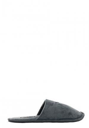 Тапочки EA7. Цвет: серый