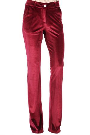 Pants CARLA BY ROZARANCIO. Цвет: wine